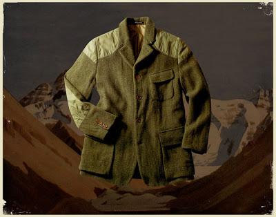 Nigel Cabourn's Tenzing jacket